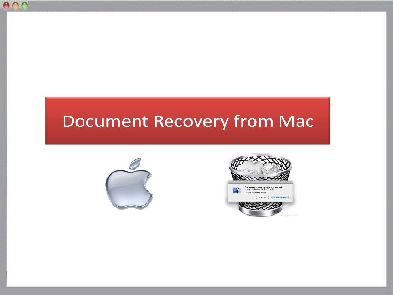 Tool to recover documents from Mac